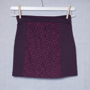 American Eagle Outfitters Purple Skirt Size 2